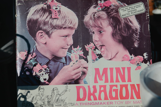 Mini Dragons Thingmaker Kit by Mattel